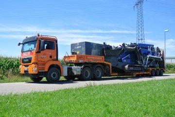 Transporte / Schwertransporte